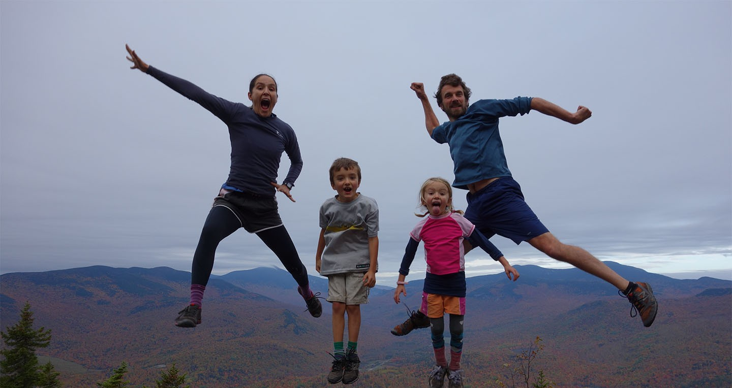 A Family Adventure of the 2,185 mile hike from Georgia to Maine - 2014